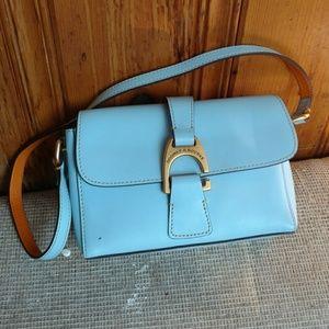 Dooney & Bourke shoulder small Tiffany blue bag